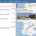Live volgen van uw objecten via de kilometer registratie applicatie